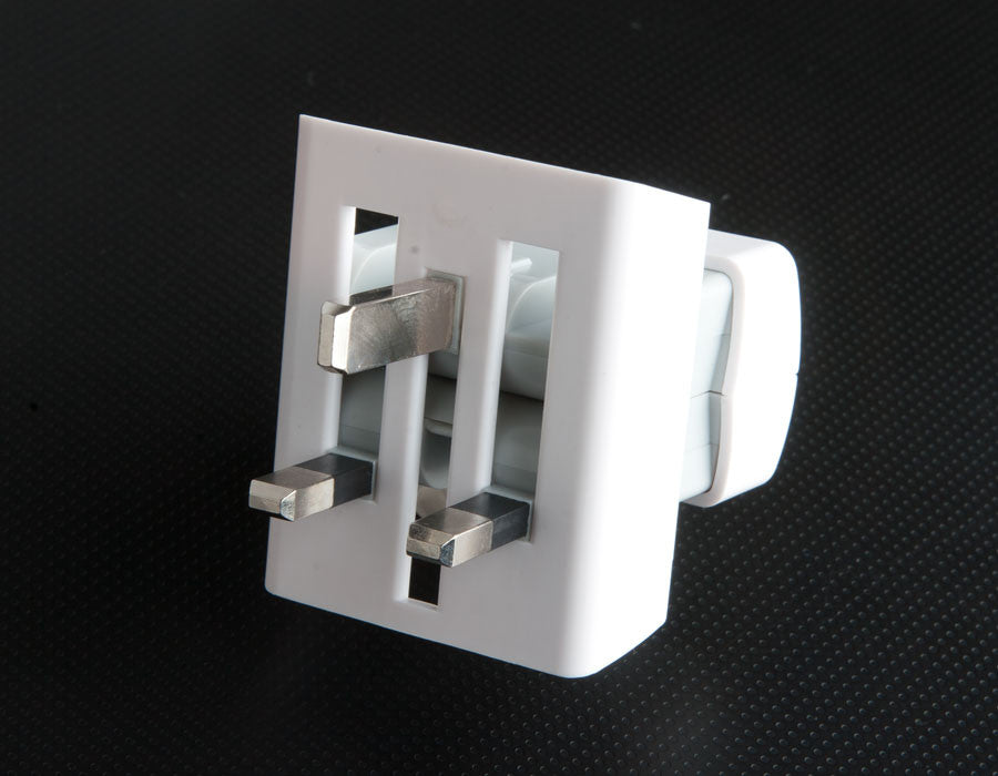 Slim Travel Adapter - US to UK/HK