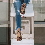 Belleyone Fashion Leopard Special Design Sneakers