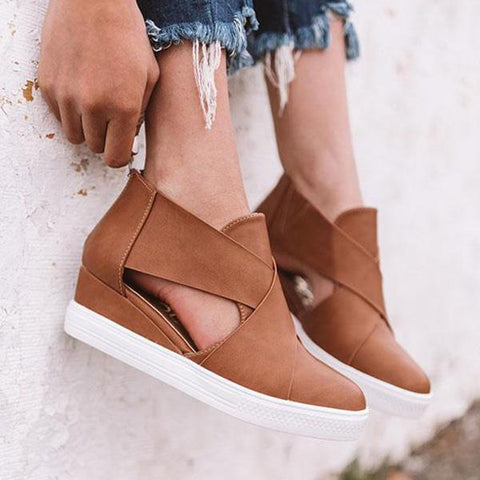 Belleyone Comfortable Stylish Wedge Heel Sneakers