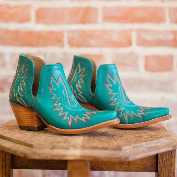 Belleyone Cut-out Western Booties