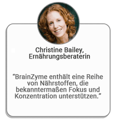 Christine Bailey BrainZyme Review