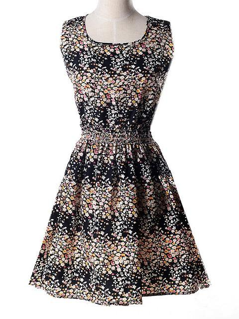 o-neck-flower-printed-mini-dress-syd3707