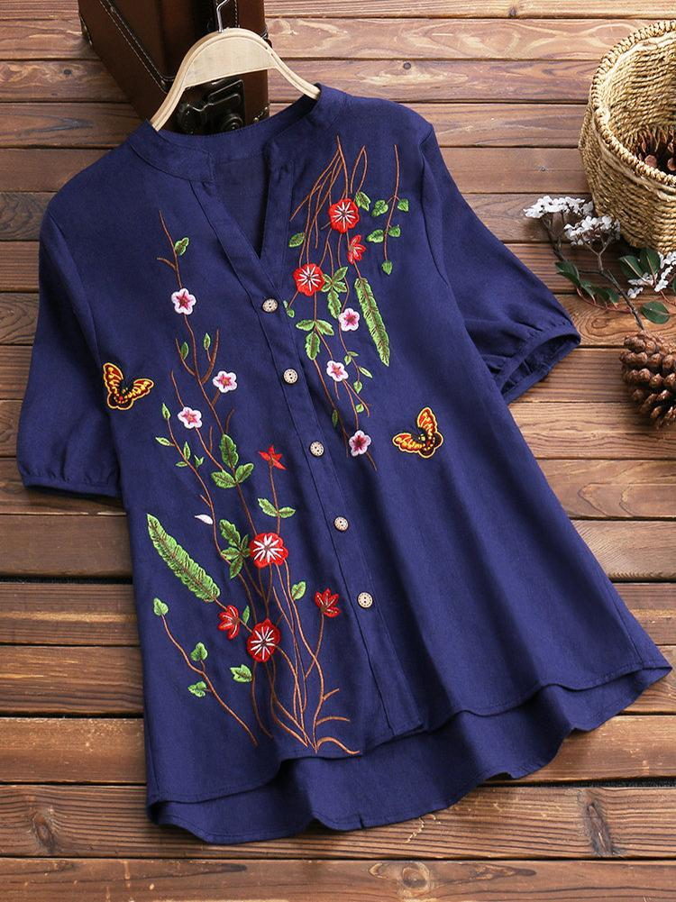 stand-collar-floral-embroidered-vintage-blouses-tty5421