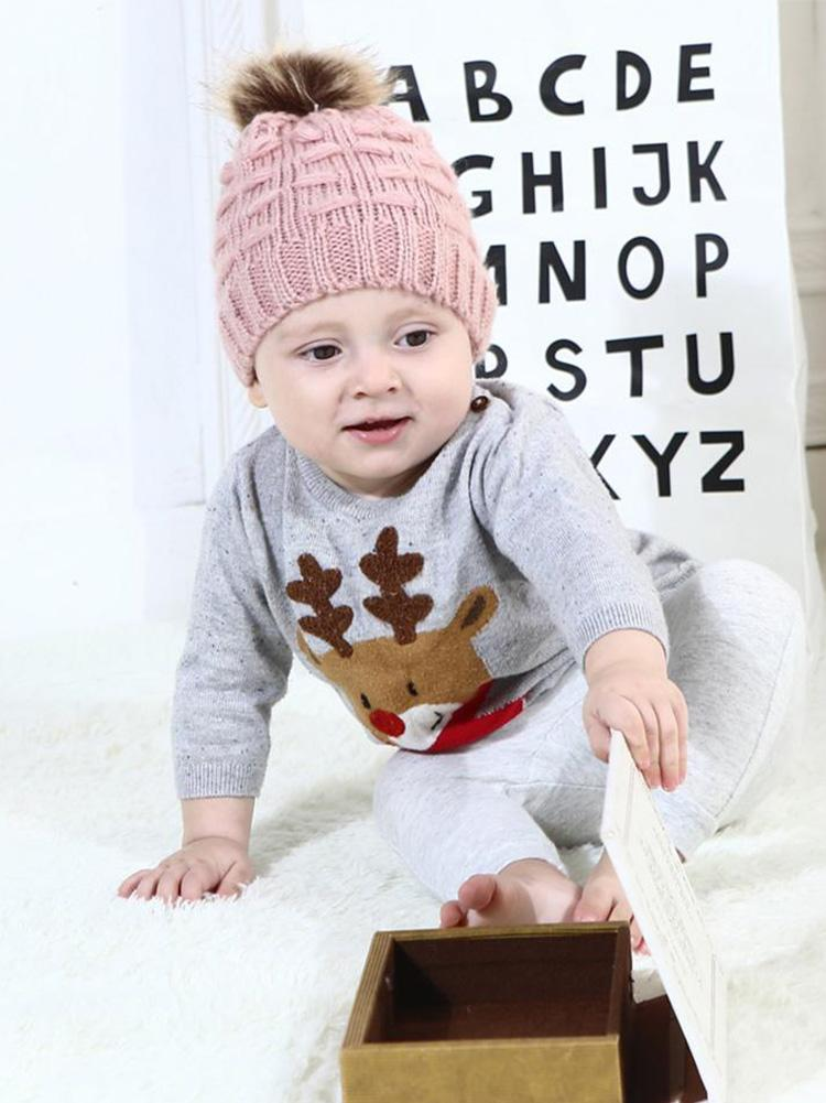 Mohair Cotton Cloth Baby Hat