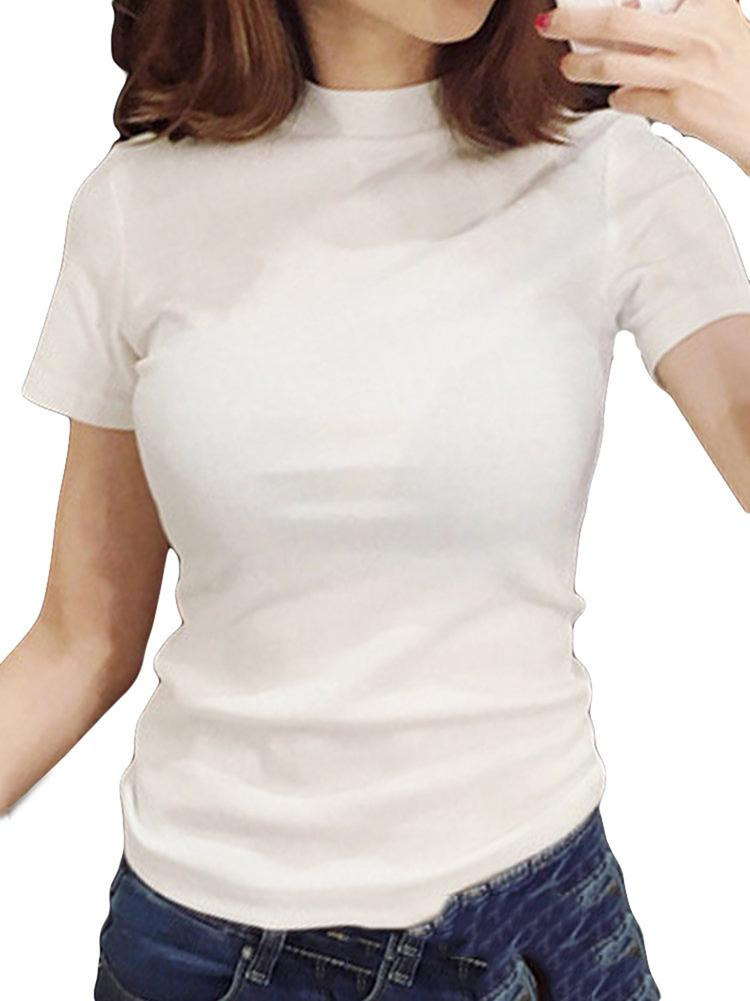 stand-collar-short-sleeve-t-shirts-zsy2445