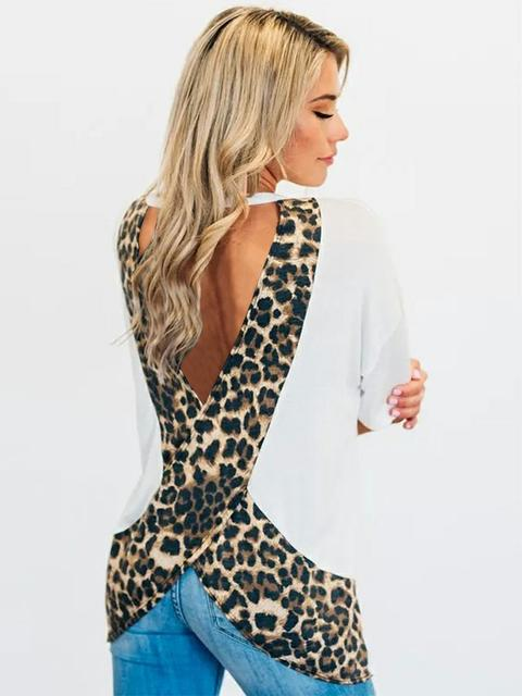 leopard-stitching-five-point-sleeve-top-ZSY8783
