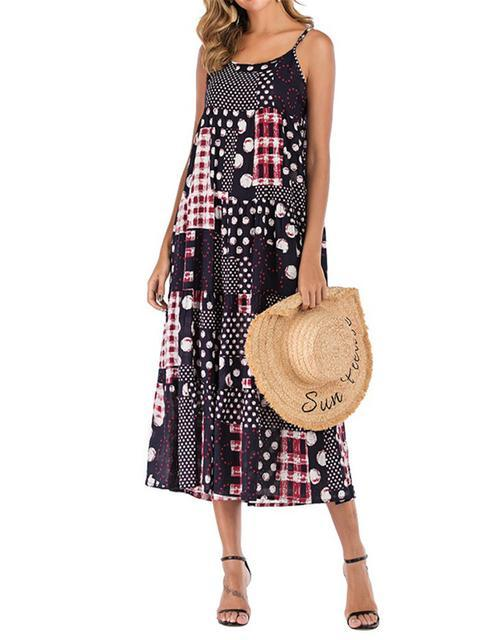 boho-vintage-print-midi-summer-dress-shechic