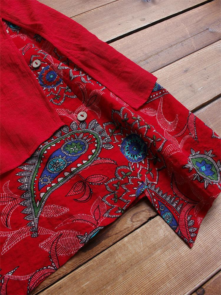 paisley-print-patchwork-side-button-blouse