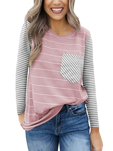 striped-colorblock-long-sleeve-casual-t-shirt-shechic