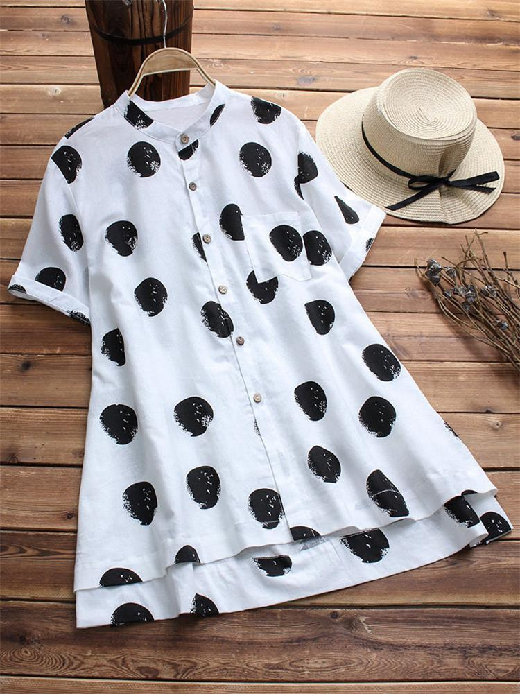 vintage-polka-dot-printed-cotton-shirt