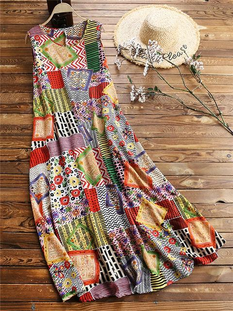 vintage-print-casual-maxi-dress-with-pockets-shechic