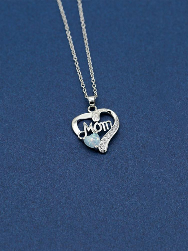 zircon-metal-necklace-mothers-day-gift