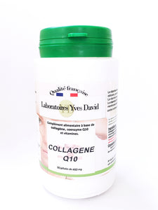 COLLAGENE, COENZYME Q10 et vitamines A et E