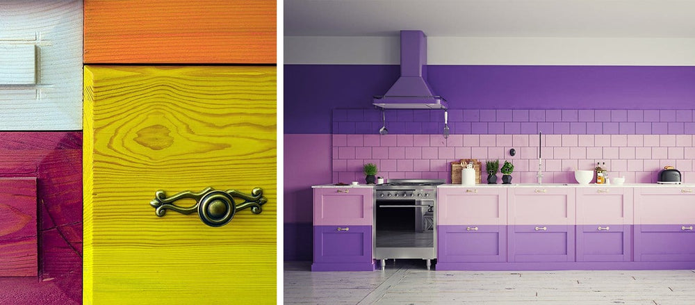 Liven up Your Home with Colorful Kitchen Cabinets
