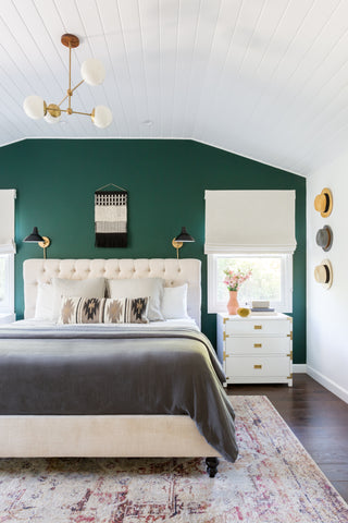 Bedroom design by Amy Elbaum