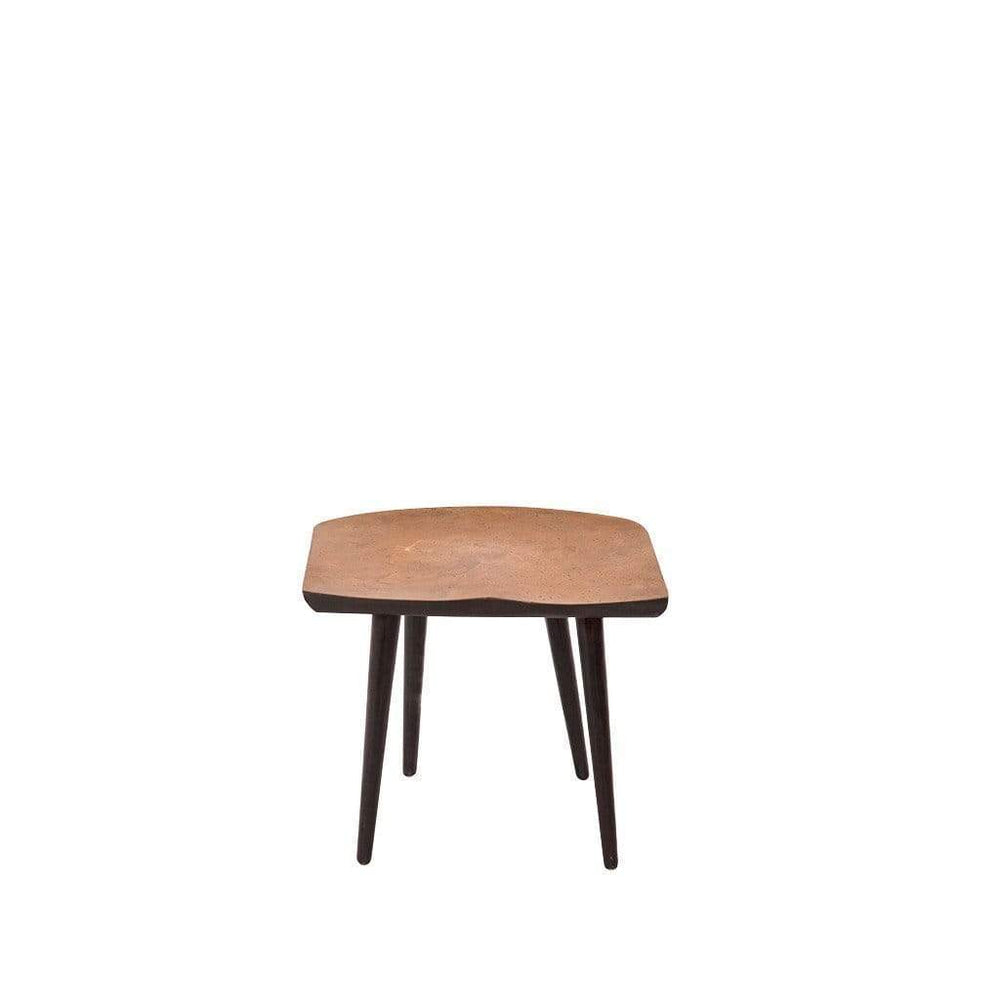Shitake Bronze Low Stool