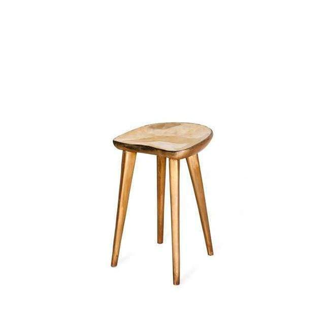 Taburet Bronze Bar Stool  -  Chair
