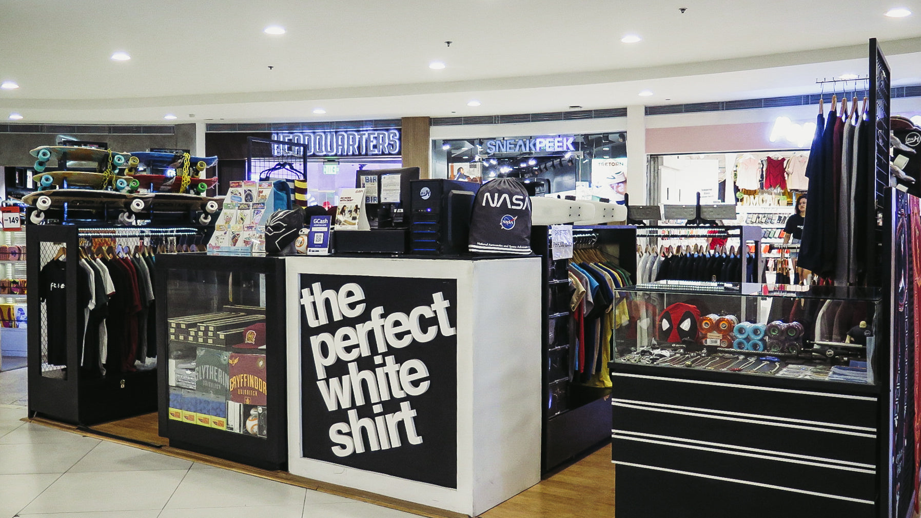 The Perfect White Shirt Trinoma