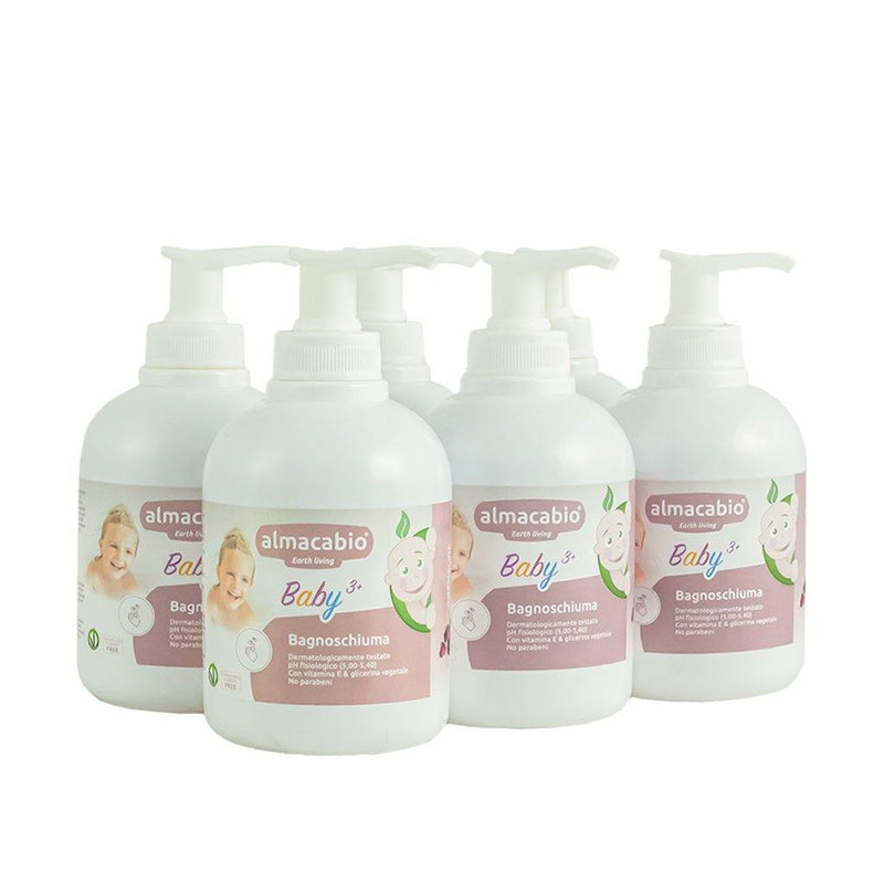 Pack 6x Baby Bath 3+ - 300 ml