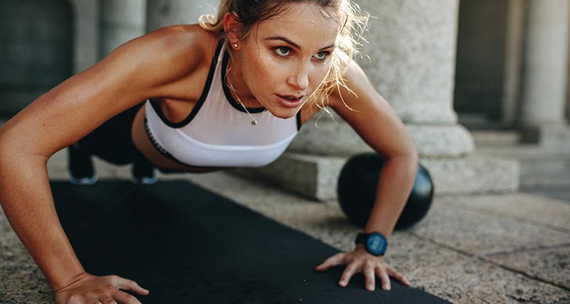 Focus CBD Drops help you stay focussed mid-workout