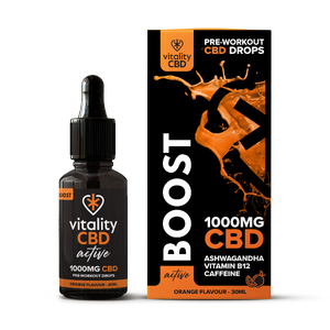 Vitality CBD Active: Boost Drops 30ml