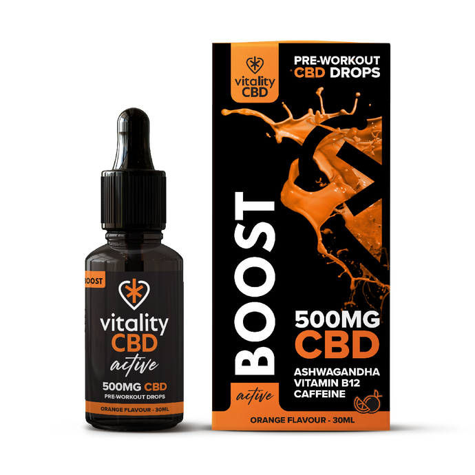 CBD Pre-workout Orange Flavour