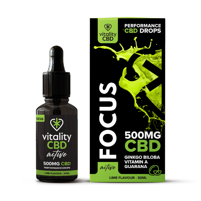 CBD Oil Drops For Fitness Performance 500mg