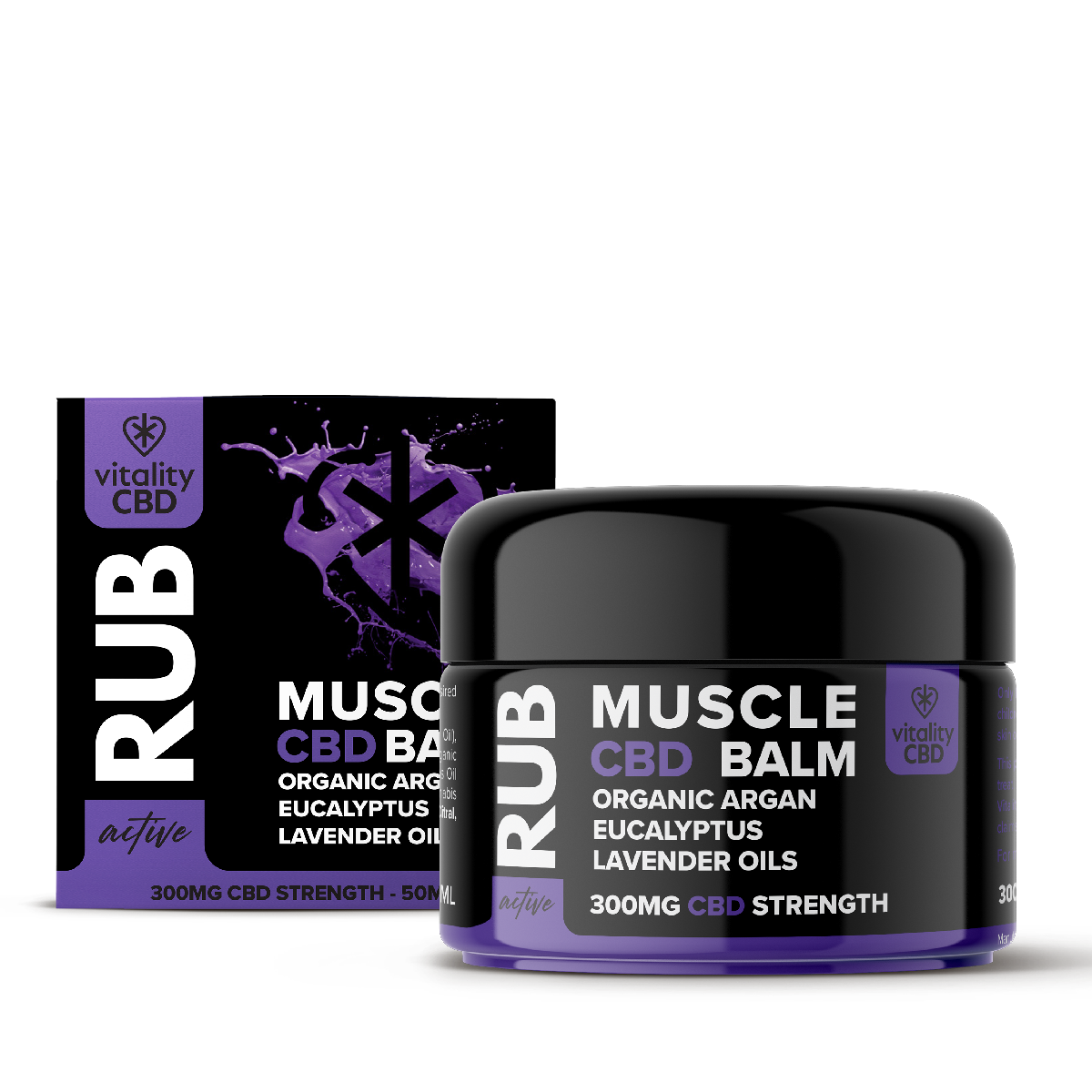 Vitality CBD Active: Muscle Rub 50ml