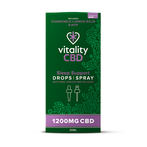 CBD Drops & Spray For Sleep Support