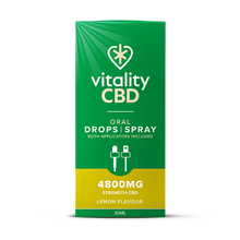 Load image into Gallery viewer, Vitality CBD Oral Drops | Spray 30ml