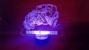 "Jeep LED Light - ""Boobie Bouncer"""