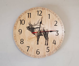 Wildlife Collection Clock