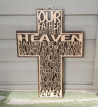 Load image into Gallery viewer, Lords Prayer Cross