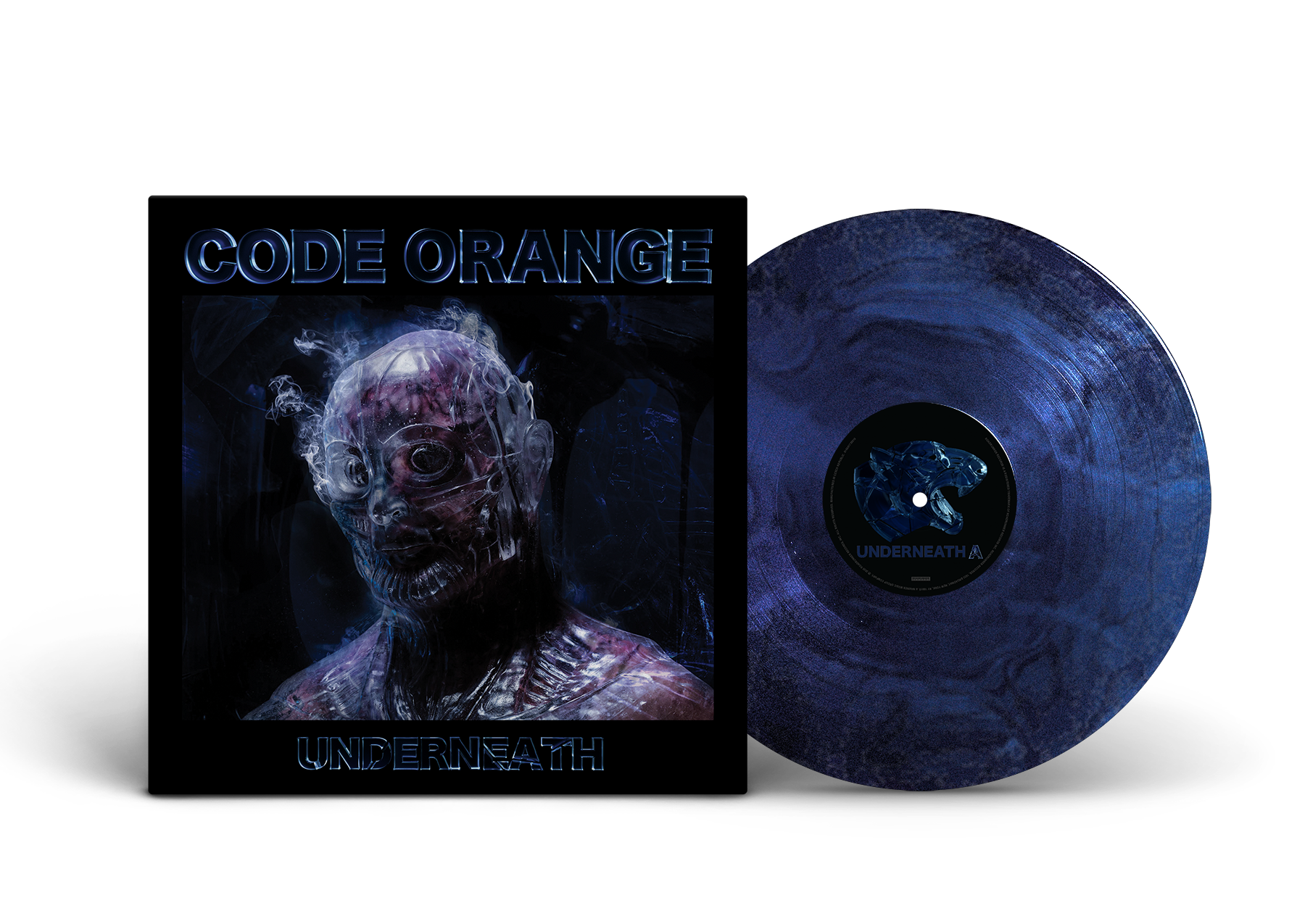 'Underneath' TRANSLUCENT GALAXY VINYL