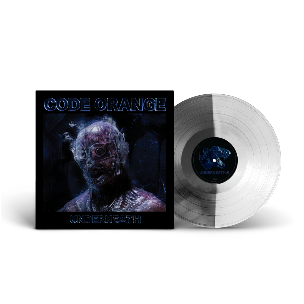 'Underneath' GLASS AND LIQUID METAL EXCLUSIVE VINYL (SIGNED)