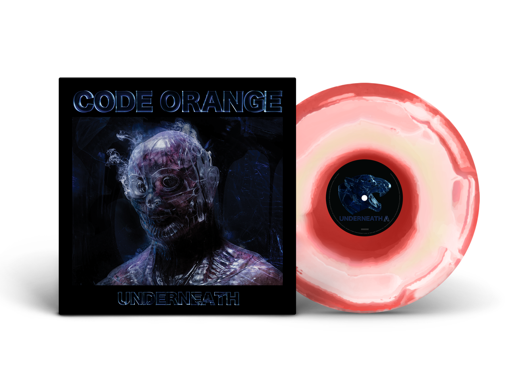 'Underneath' HUMAN FLESH & BLOOD EXCLUSIVE VINYL