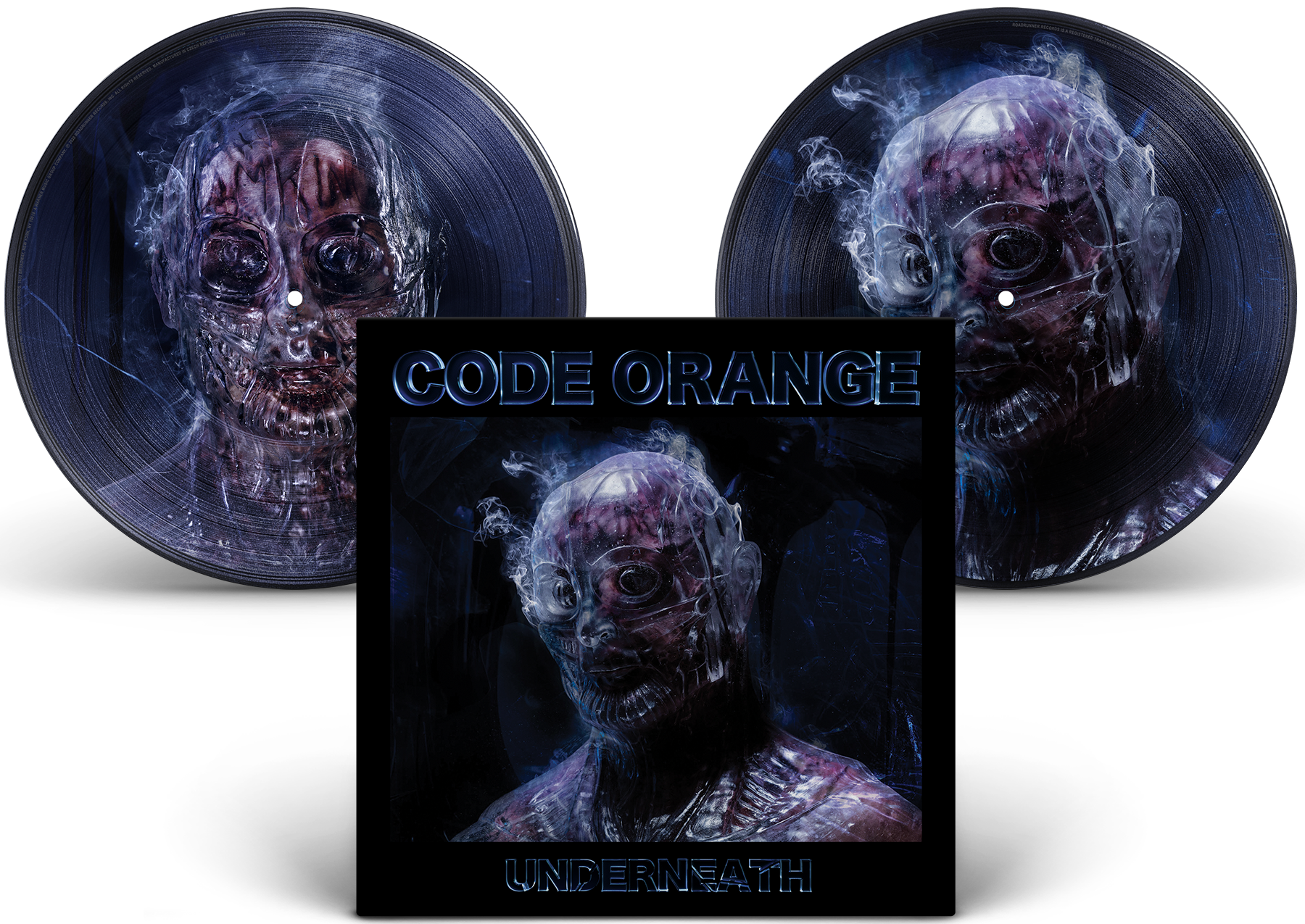 'Underneath' THE CUTTER (picture disc) EXCLUSIVE VINYL
