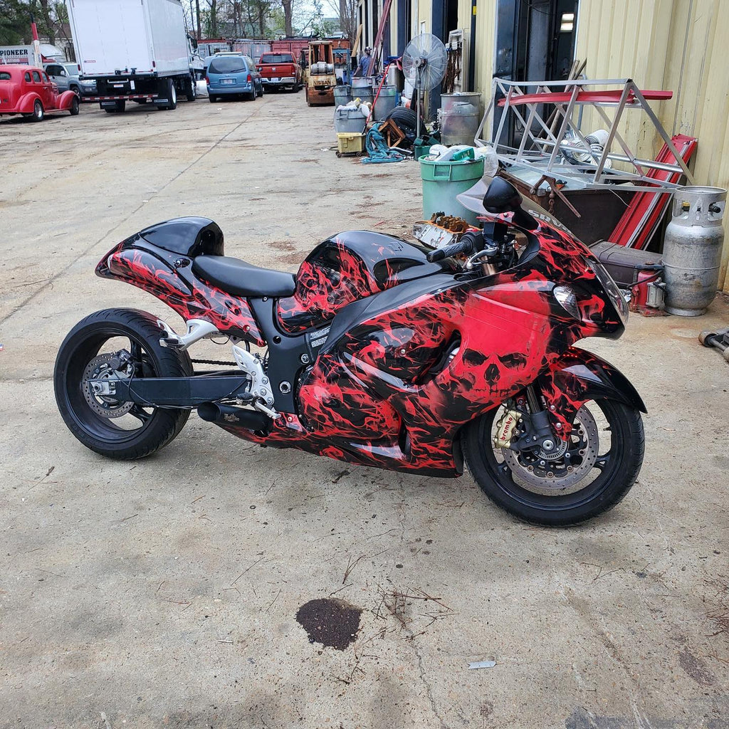 Vinyl Wrap vs Custom Paint Job: The Pros & Cons to Creating a Custom Motorcycle