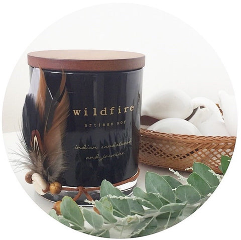 WILDFIRE | Artesian Soy Candles | Raven