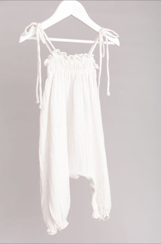 Mia Shirred Romper