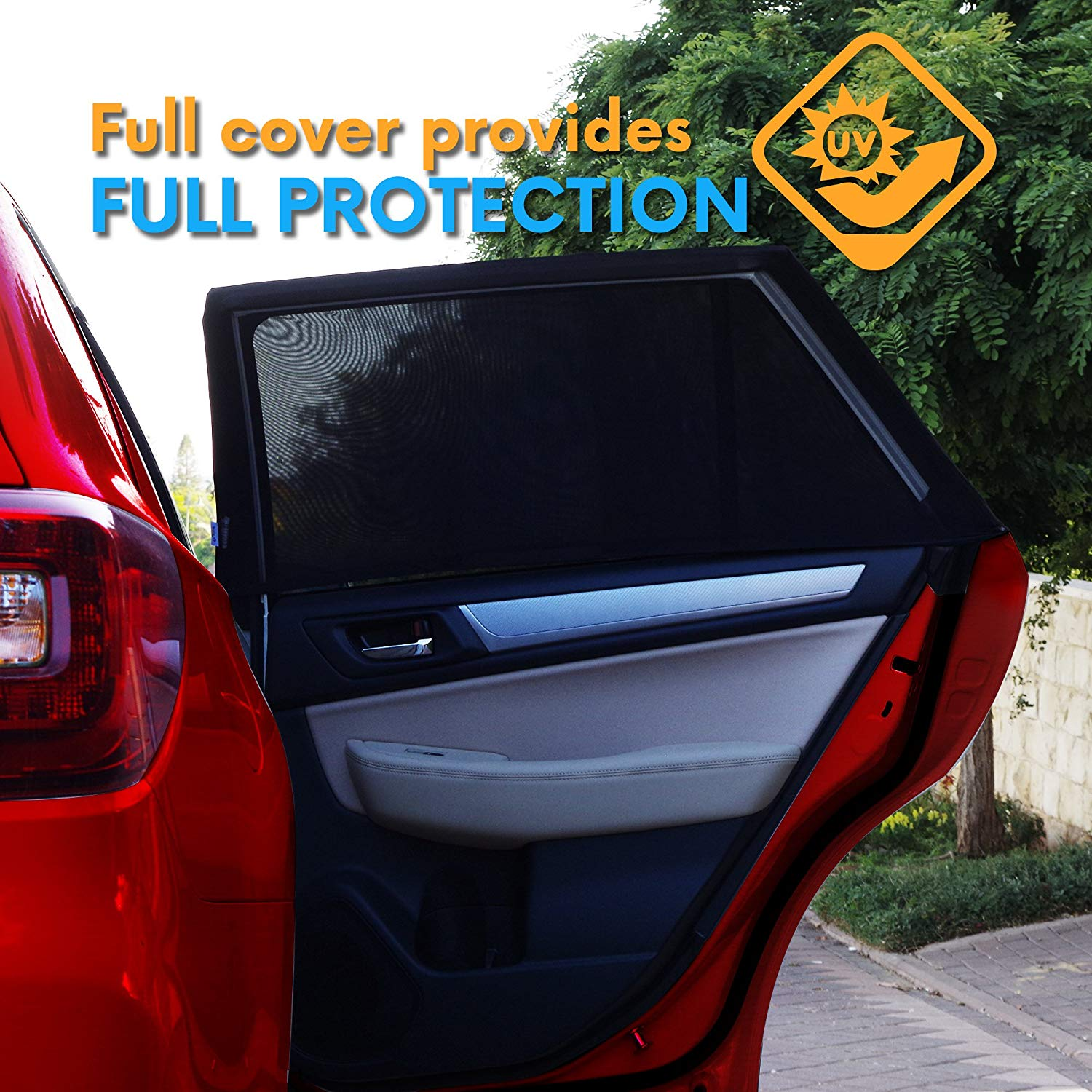 Adjustable Sunshade - Car's side window cover