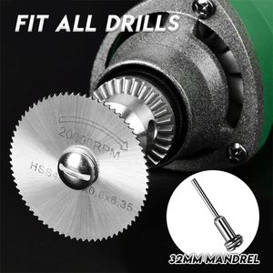 Disc Drill Blades and Mandrel - Awesales
