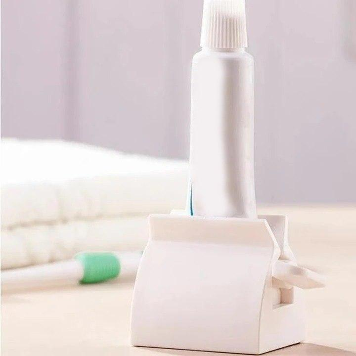 Rolling Tube Toothpaste Squeezer - 1 PCS ( WHITE ) - Awesales