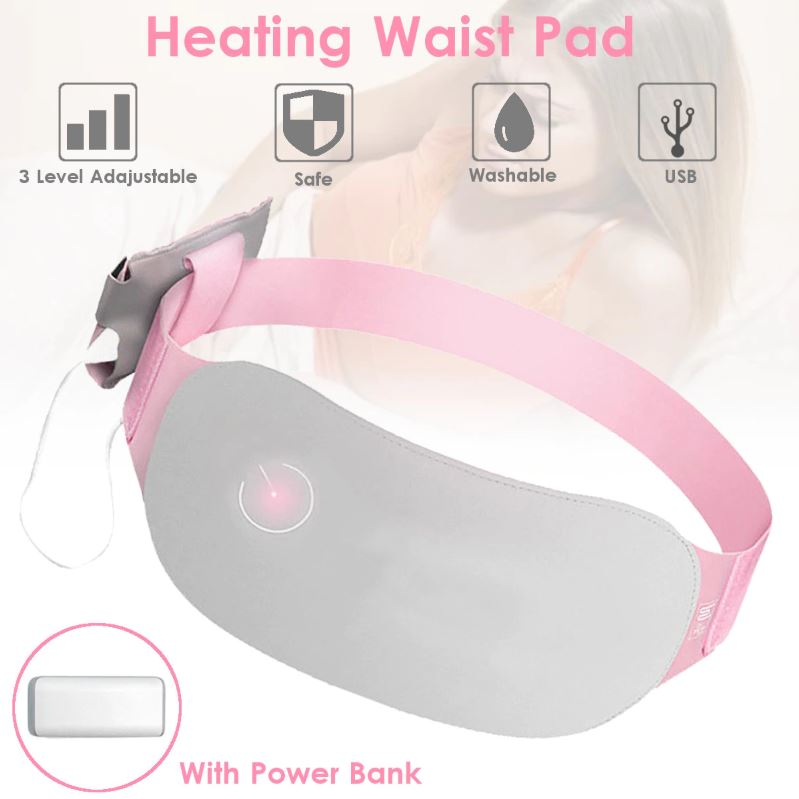 Menstrual Cramp Relief Heated Belt - - Awesales