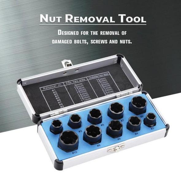 The Misugi - Nut Removal Tool (10pcs) - Long - Awesales