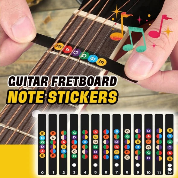 Guitar Fretboard Note Stickers🎸 - Awesales