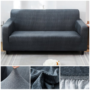 Premium Sofa Cover - 1 Seater : 90-140cm / DARK GREY - Awesales