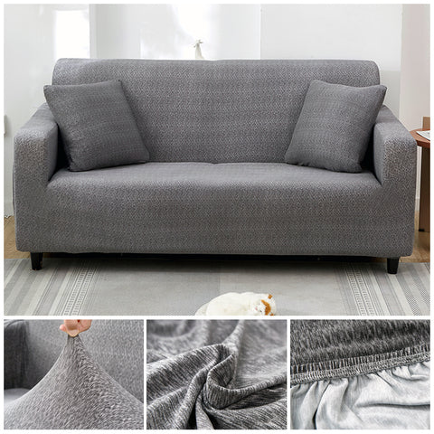 Premium Sofa Cover - 1 Seater : 90-140cm / GREY - Awesales