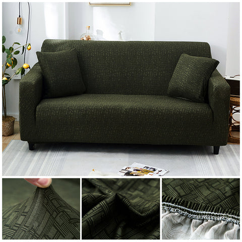 Premium Sofa Cover - 1 Seater : 90-140cm / LIGHT GREEN - Awesales