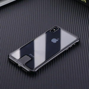 No Border Case For iPhone - For iPhone XS MAX / Black - Awesales